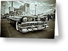 56 Chevy Greeting Card by Merrick Imagery