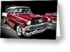 56 Chevy Greeting Card