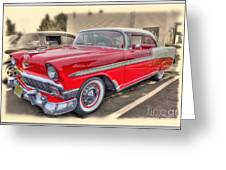 56 Classic Chevy Greeting Card