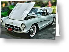 '56 Corvette Greeting Card