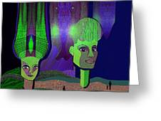 566 - Sphinxes In Fairyland Greeting Card