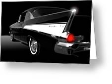 57 Chev Greeting Card