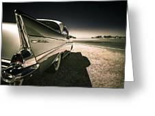57 Chevrolet Bel Air Greeting Card