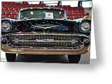 '57 Chevy Bel Air Show Car Greeting Card