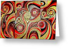 Most Wanted Art Award Oil Painting Original Abstract Modern Contemporary House Office Wall Deco  Greeting Card