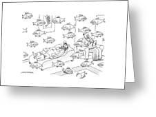 New Yorker May 5th, 2008 Greeting Card