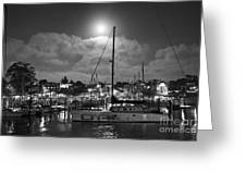 570 Bw The Sea Odessy                                      In Monochome 2 Greeting Card
