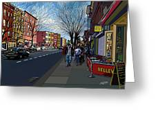 5th Ave Park Slope Brooklyn Greeting Card