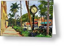 5th Avenue Naples Florida Greeting Card