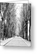 Pere-lachais Cemetery In Paris France Greeting Card