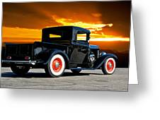 1932 Ford Pick Up Greeting Card