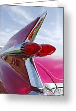 1959 Cadillac Eldorado Taillight Greeting Card