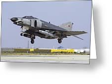 A Turkish Air Force F-4e-2020 Greeting Card
