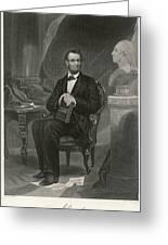 Abraham Lincoln (1809 - 1865) U Greeting Card