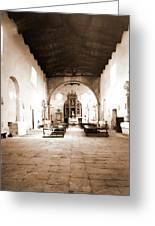 Abruzzo, Laquila, Paganica, Madonna Del Castello Greeting Card
