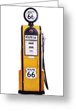 Antique Fuel Pump Greeting Card