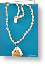 Aphrodite Antheia Necklace Greeting Card