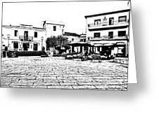 Arzachena Square Greeting Card