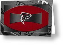 Atlanta Falcons Greeting Card