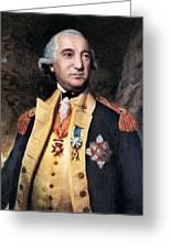 Baron Friedrich Von Steuben Greeting Card