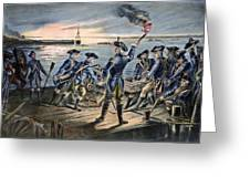 Battle Of Long Island, 1776 Greeting Card