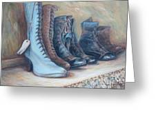 6 Boots Greeting Card