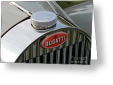 Bugatti Type 57 Greeting Card
