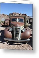 Eldorado Canyon Auto Show Greeting Card