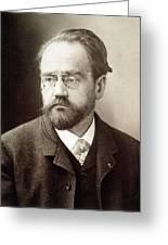 Emile Zola (1840-1902) Greeting Card