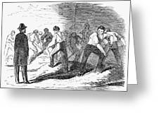 Execution Of Conspirators Greeting Card