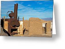 Harmony Borax Works Death Valley National Park Greeting Card