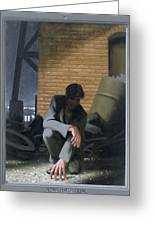 6. Jesus Prays Alone / From The Passion Of Christ - A Gay Vision Greeting Card