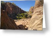 Katherine Gorge Landscapes Greeting Card