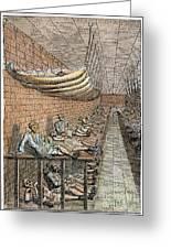 London: Debtors Prison Greeting Card