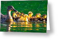 Mallard Mom Greeting Card