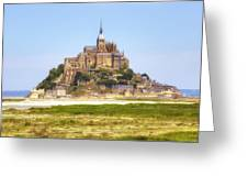 Mont Saint-michel - Normandy Greeting Card
