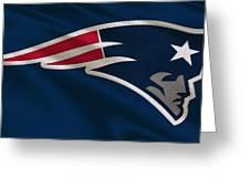 New England Patriots Uniform Greeting Card