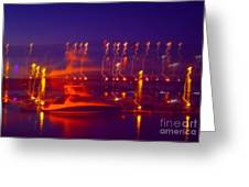 Newburgh Water Front Greeting Card