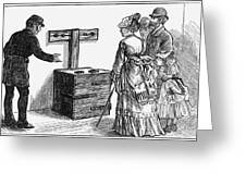 Newgate Prison, 1873 Greeting Card