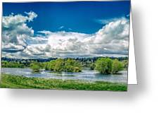 Nisqually Wildlife Refuge Greeting Card
