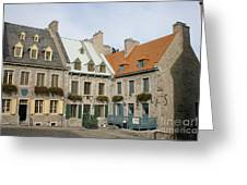 Old Town Quebec - Canada Greeting Card