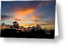 Outer Banks North Carolina Sunset Greeting Card
