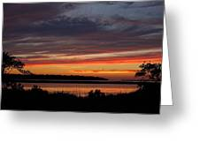 Outer Banks Sunset Greeting Card