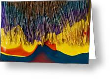 Paint Brushes Camouflaged Greeting Card