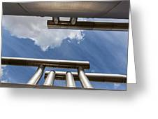 Pipes At Nesjavellir Geothermal Power Greeting Card