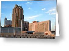 Raleigh Skyline Greeting Card