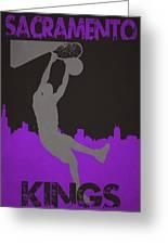 Sacramento Kings Greeting Card