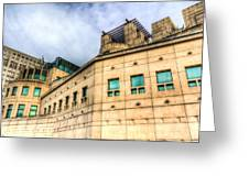 Secret Service Building London Greeting Card