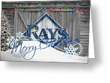 Tampa Bay Rays Greeting Card