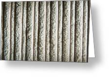 Textile Background Greeting Card